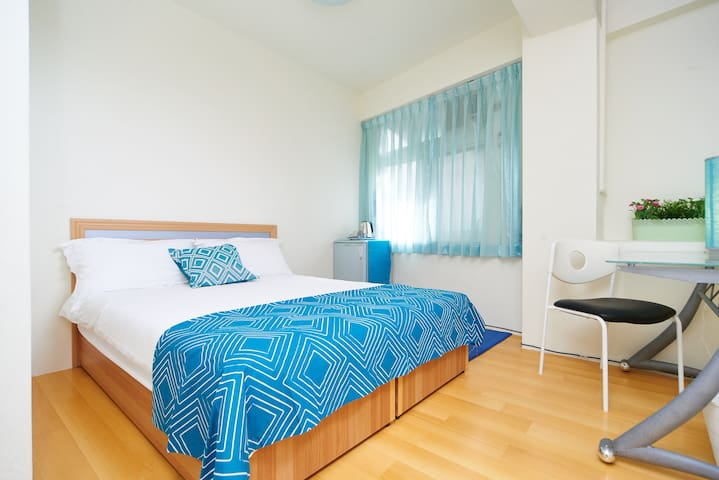 [Turquoise] suite near MRT Yongan - Yonghe District - Daire