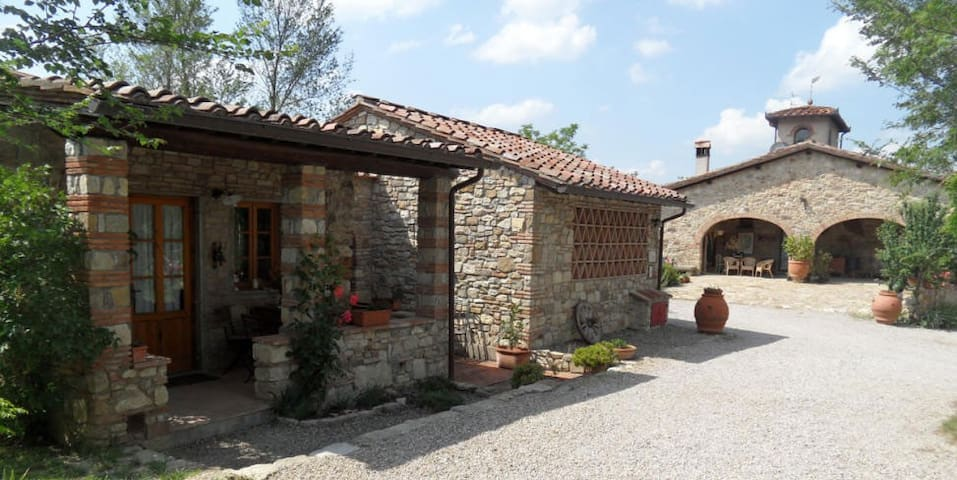 Chianti Holiday House,  Jacuzzi in the vineyards - San Casciano in Val di pesa - Hus