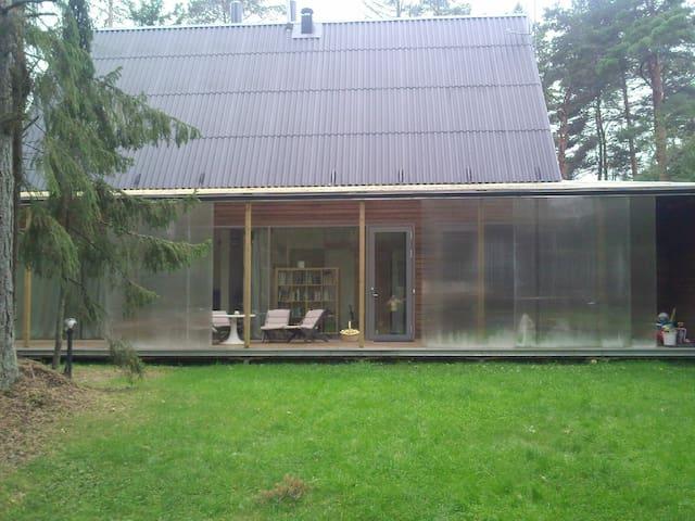Modern country home - Kloogaranna