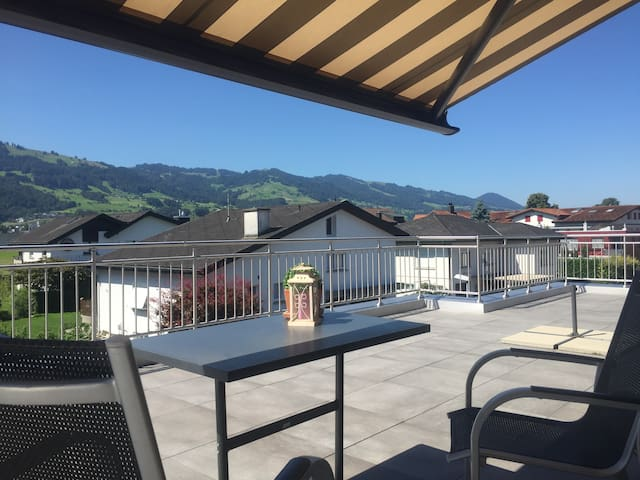 apartment in a quiet location with pool - Wangen - Byt