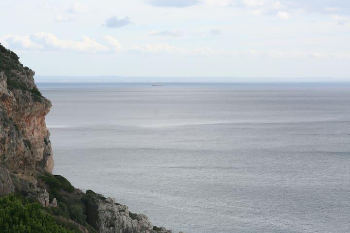 T0 com vista mar e acesso privativo à praia! - Sesimbra - Apartamento