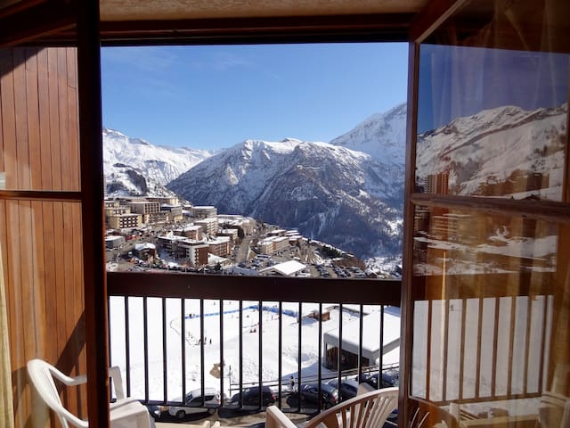 Studio for 4 right on ski slopes! - Orcières - Apartamento