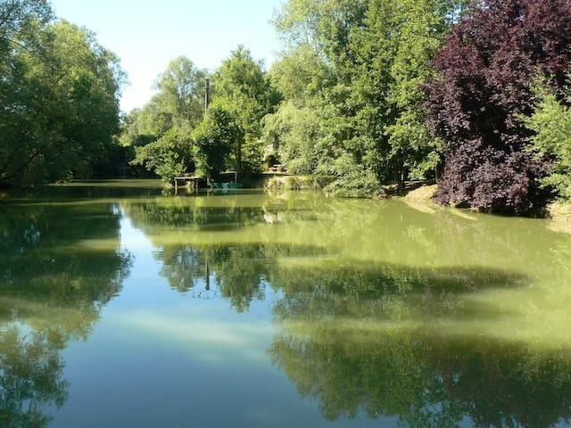 la maison de l'étang - Sampigny - Rumah