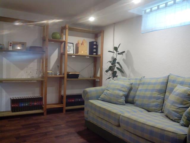 Gemütliche Wohnung im Souterrain - Lotte - Lägenhet