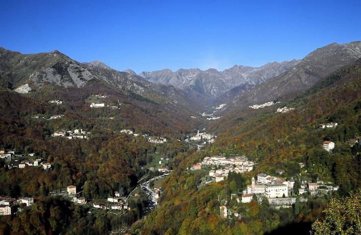 A due passi dalla città e a due passi dai monti - Andorno Cacciorna - 公寓