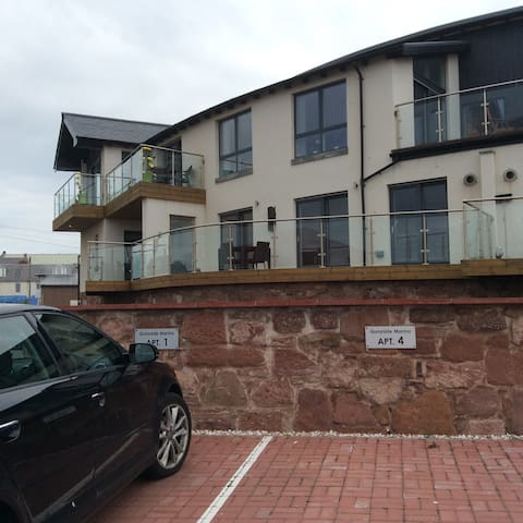 Apartment overlooking Marina in Arbroath - Arbroath - Appartement