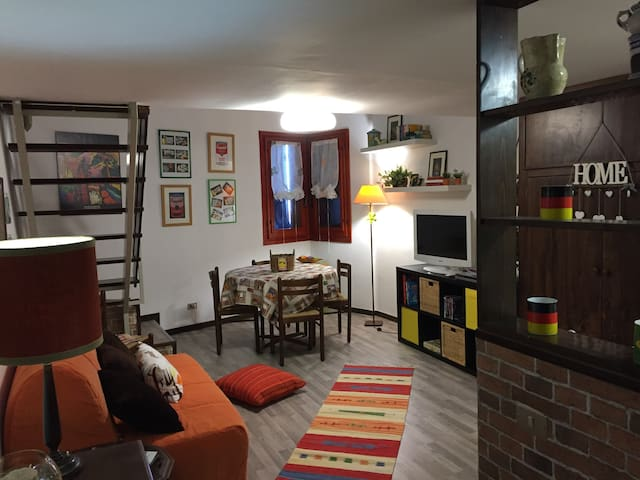 Lovely furnished mini-flat - Pietracamela - Apartament