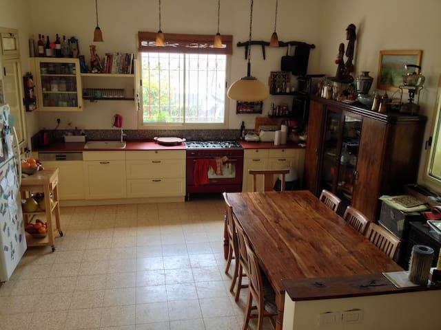 Family home for animal lovers - Kfar Uria - Hus