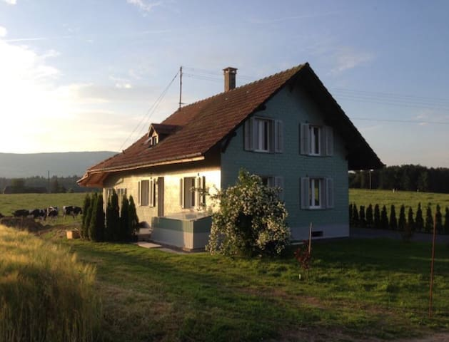 Nice house centrally located - Wangenried - Huis