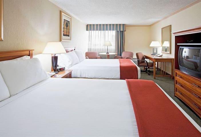 Comparto  habitacion de hotel doble cama 29 enero - Hialeah - Apartemen berlayanan