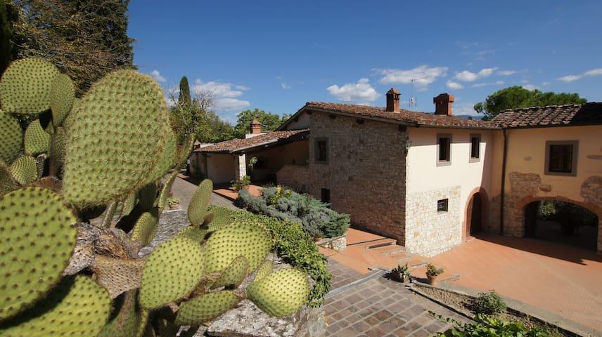 Cypresses - Tuscan farmhouse with swimming pool - Rignano Sull'Arno - Daire