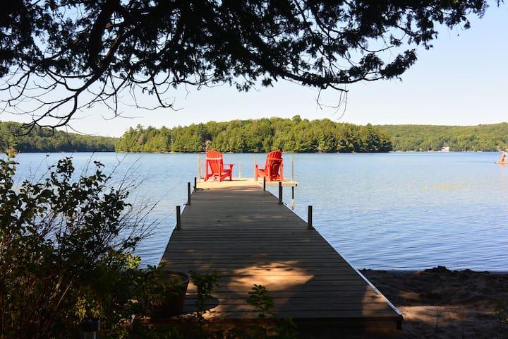 Family-friendly cottage on Three Mile Lake - Burk's Falls - Cabaña