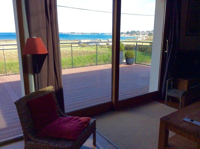 Maison au calme vue sur mer - Carantec - Hus