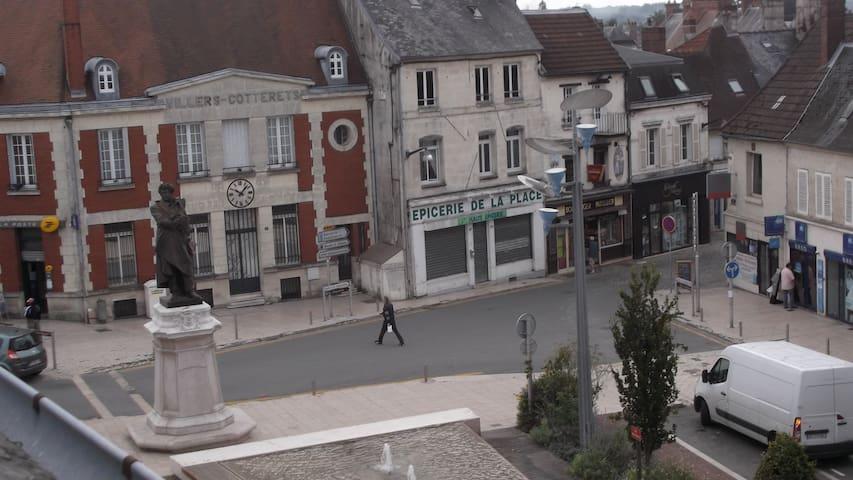 Appartement place centrale Villers-Cotterêts - Villers-Cotterêts - Apartemen