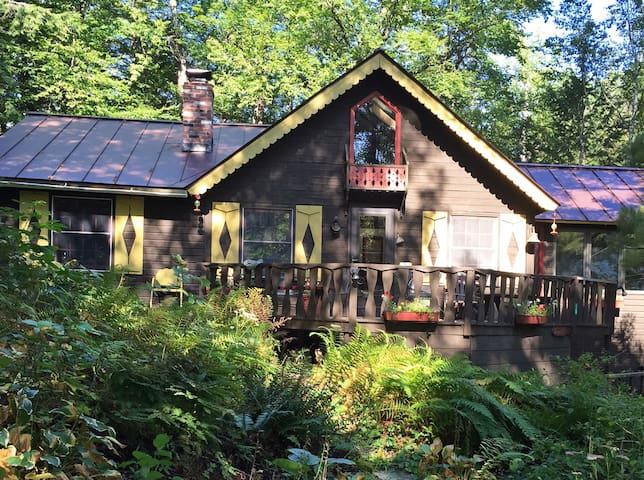 Fern Hill - charming lake cottage - Brandon - Casa