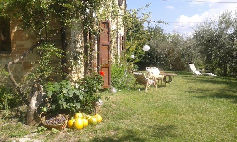 casa in pietra +giardino e orto bio - Rotella - Villa