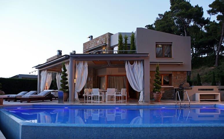 Luxury Villa Sani A - Kymina