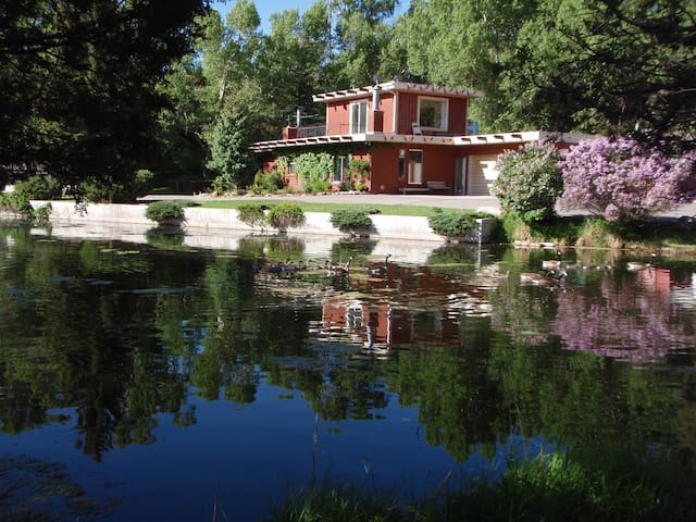 Chalet on the River, just upstream from Salida - Salida - Ev