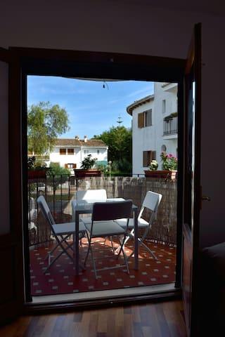 Terrace a 100m del mar y15 min de valencia+parking - Valencia - Leilighet