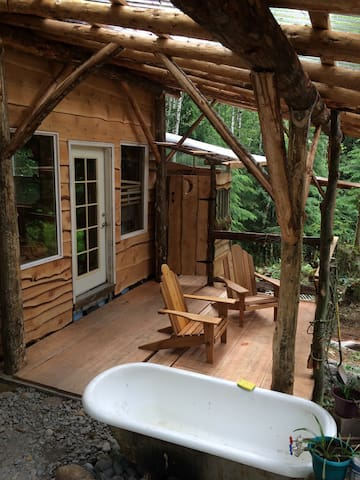 Tiny House Cabin & Bath Nestled Deep in the Woods - Sedro-Woolley
