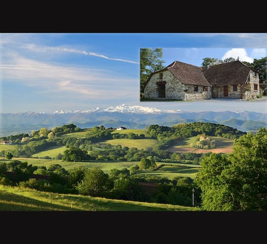 Beautiful house with the best view in France! - Castetbon - Ev