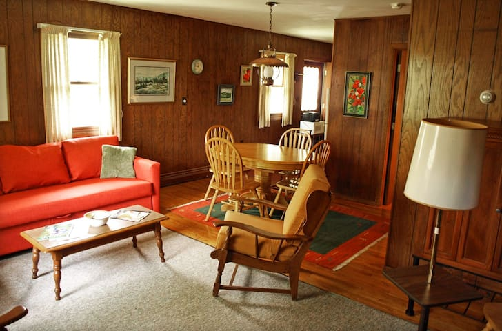 Peaceful, cozy apt. in the midst of the Catskills - Prattsville - Departamento