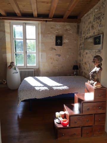 Chambre avec vue sur fleuve / Estey - Langoiran - Huis