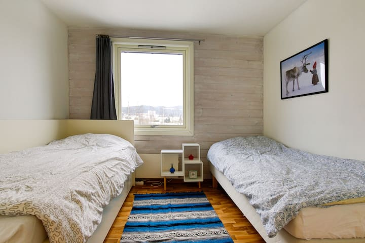 Nice room with view & free parking - Fjellhamar