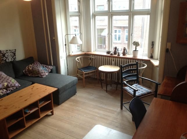 Spacious room in downtown Aarhus - Arhus - Apartamento