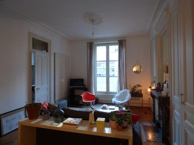 Appartement spacieux et cosy Place Carnot - Lyon - Appartement