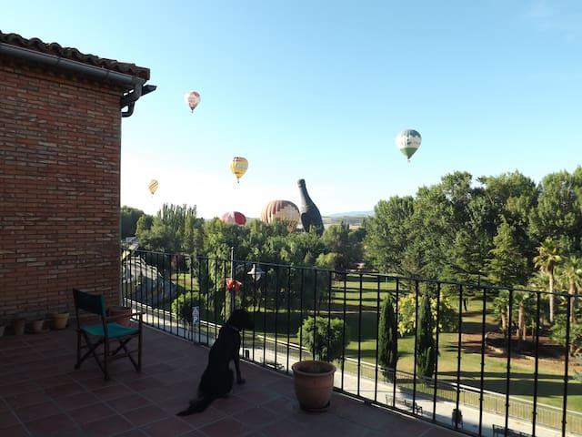 Piso de una casa con preciosas vistas - Calahorra - Haus