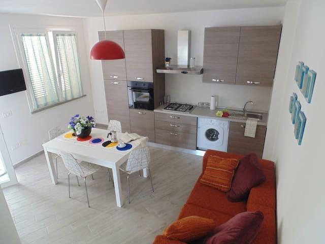 Nuovissimo trilocale con terrazza - Rosignano Solvay - Apartemen