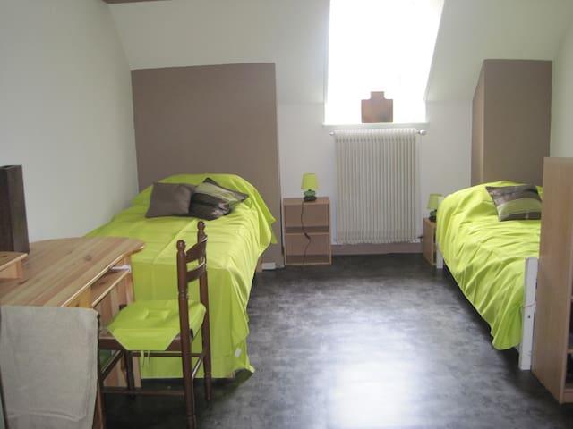 Appartement avec deux chambres pour 6 personnes. - Paray-le-Monial - Appartement