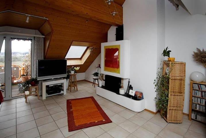 2BD charming apartment next to EPFL - Ecublens - Lägenhet