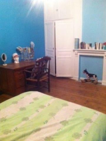 Chambre dans une maison de caractère - Grenay - Oda + Kahvaltı