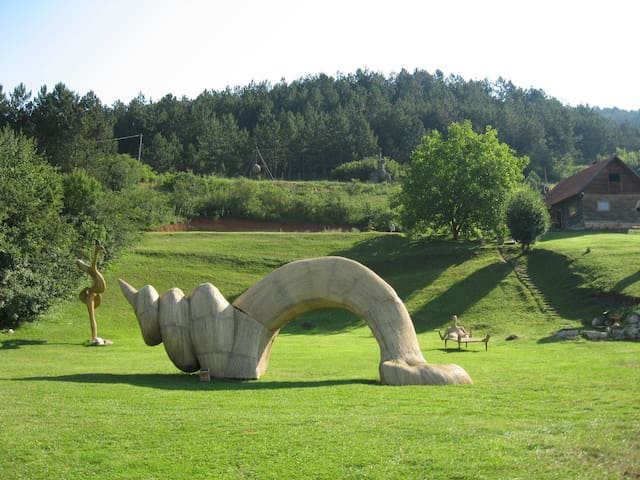 Perfect harmony with nature and art - Magyarfenes