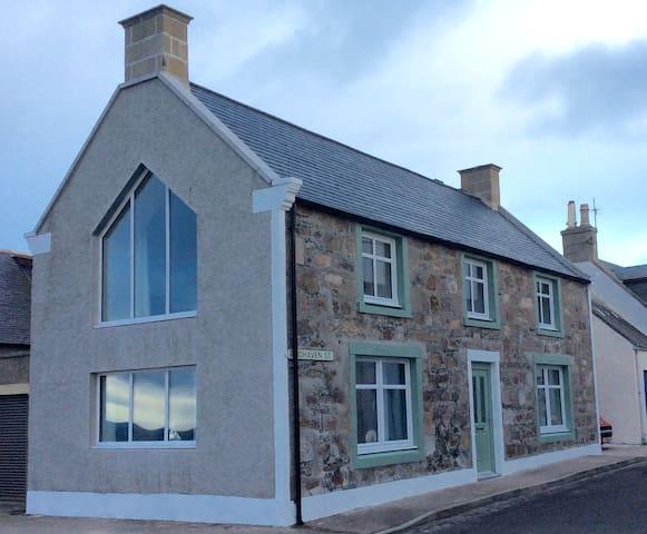 Sailmaker's Cottage, fully refurbished 2016 - Portknockie - Дом