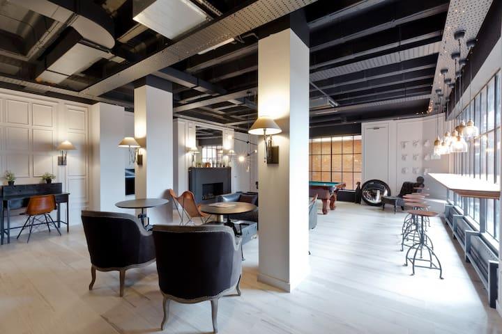Luxurious Studio for 2 near Heathrow & Twickenham - Hounslow - Departamento