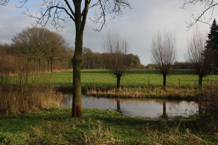 Nice appartement with beautiful view - Breda - Huis