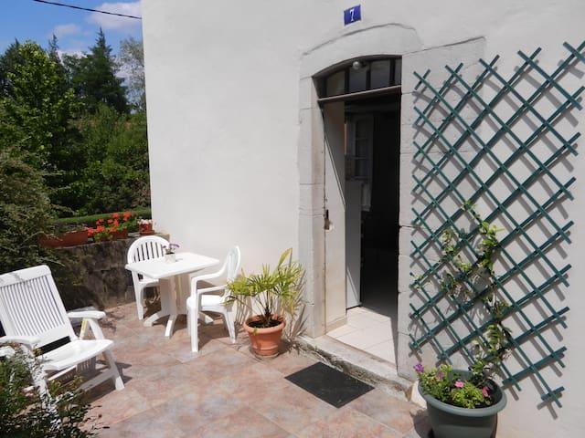 Appartement avec terrasse et jardin - Salies-de-Béarn - Appartement