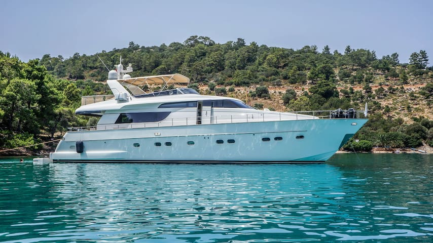 Luxury Yatch Carter in Aegean Sea - Bodrum - Båt