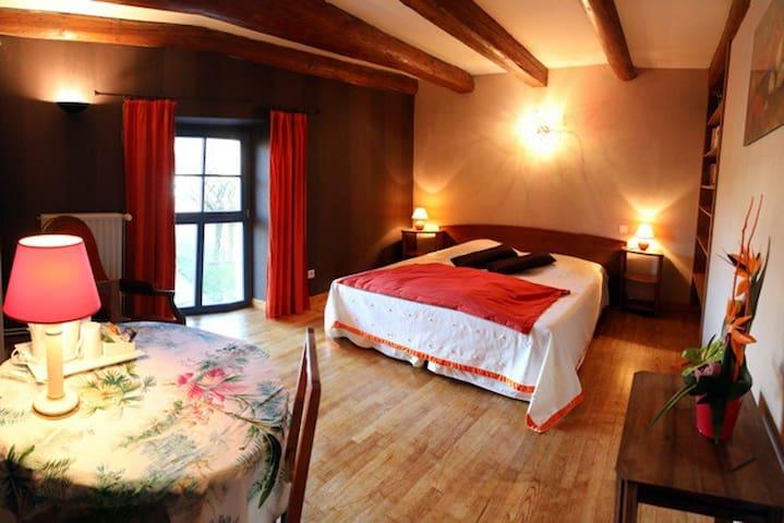 suite familiale Sainte Genevieve - Sainte-Genevieve - Gästhus