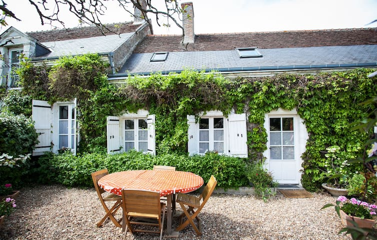 Lovely cottage with pool nr Amboise - Monteaux