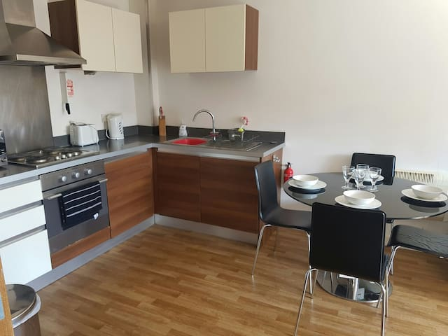 Comfortable cosy Doble bed Room - Liverpool - Lägenhet