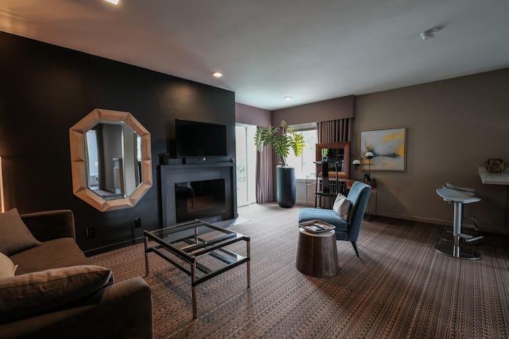 Designer Mid-Peninsula Apartment - Сан-Матео - Квартира