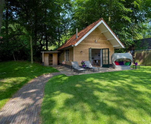 Sparrennest, boshuis (forest cottage) in Hilversum - 希爾弗瑟姆(Hilversum) - 小木屋
