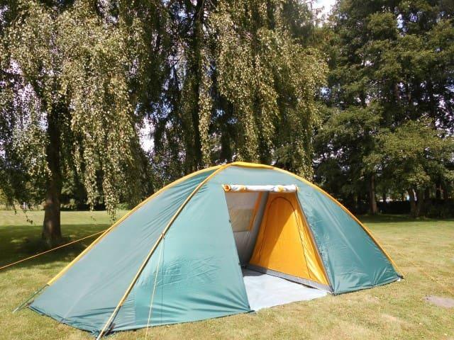 Ferien im großen Zelt am Waldsee - Lübtheen - Tienda de campaña