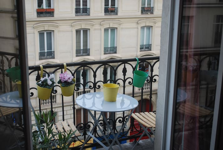 Charming Studio near the Canal Saint-Martin - Paris - Apartemen