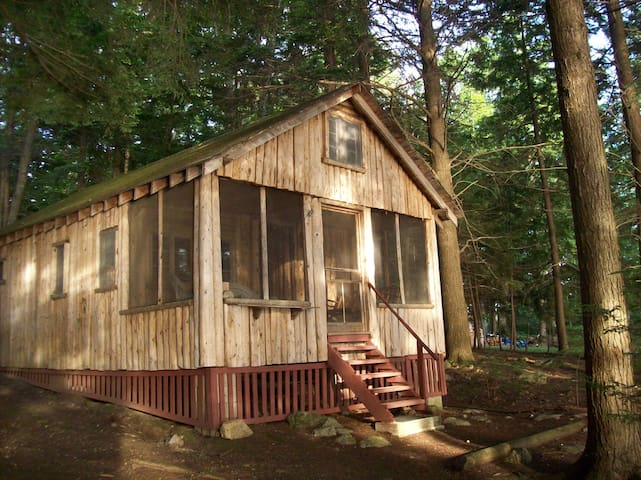 Nature Lovers Cabin on Cobbossee Stream - West Gardiner - Kabin
