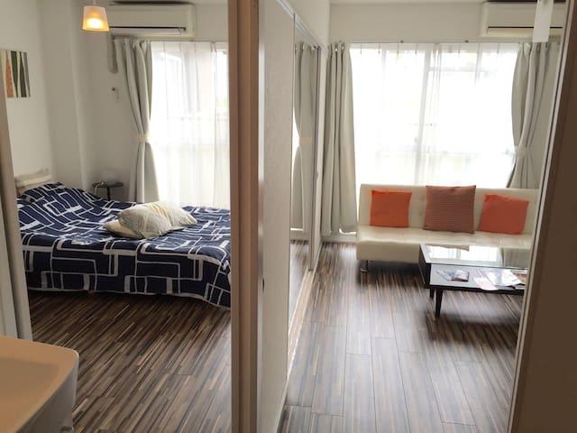 Wonderful location. up to 5 guests! -   Naka Ward, Hiroshima, Hiroshima Prefecture . - Квартира